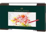 tekenstift Faber-Castell Pitt Artist Pen houten koffer,     90-delig_