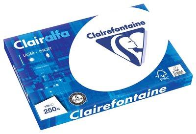 Clairefontaine Presentatie papier 250gr. Wit, A3 pak 125 vel
