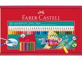 aquarelpotlood-Faber-Castell-35-stuks-in-houten-kist-met-penseel-en-slijper